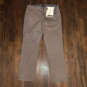 Gray Chino Dress Pants